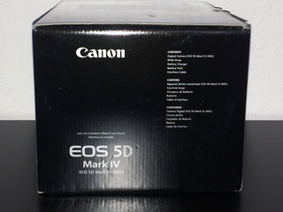 New Canon Eos 5d Mark Iv 30.4mp Digital Slr Camera - Black (