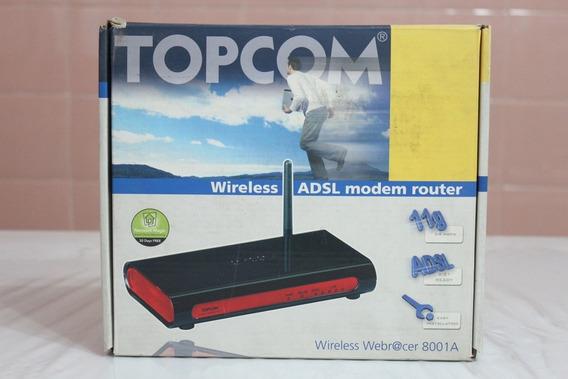Topcom Wireless Adsl Webracer 8001 - Para Conexion Adsl