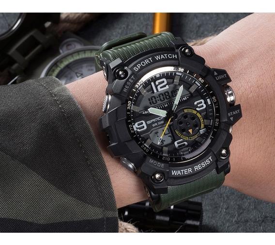 Relógio Analog/digital Sanda Esportivo G-shock Prova D