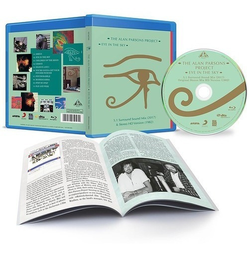The Alan Parsons Project - Eye In The Sky Bluray Áudio