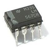 Circuito Integrado Lm567cn Lm567 567cn Decodificador De Tono