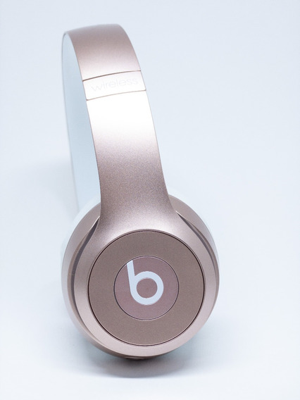 Fone De Ouvido Wireless Beats Solo Gold Rose