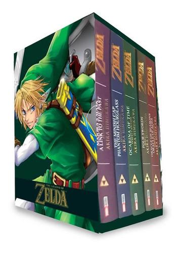 Imagen 1 de 2 de Panini Manga The Legend Of Zelda Boxset