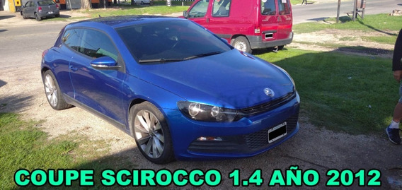 Coupe Vw Scirocco 1.4 Año 2012 Bajada