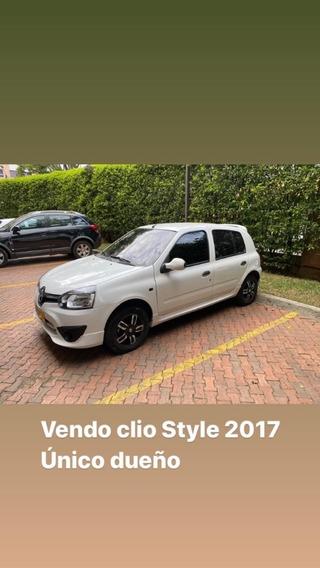 Clio Style 2017 Unico Dueño