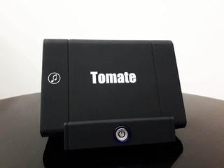 Caixa De Som Para Celular Por Indução Mts8812 Tomate