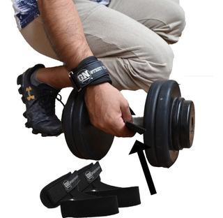 Par Straps Con Muñequera Gym Crossfit Pesas Calidad Premium