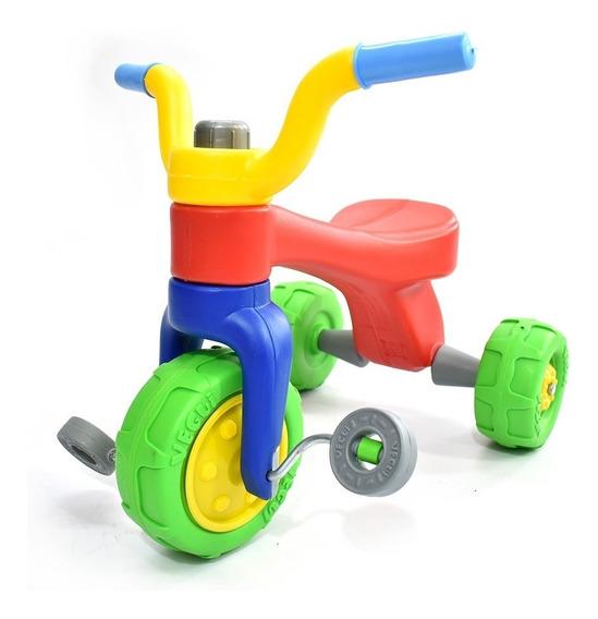 Triciclo Vegui Qrio Plastico Irromplible De 1 A 4 Años