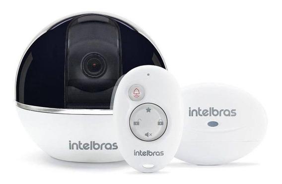 Sistema De Segurança Wi-fi Full Hd Intelbras Com Alarme Ic7s