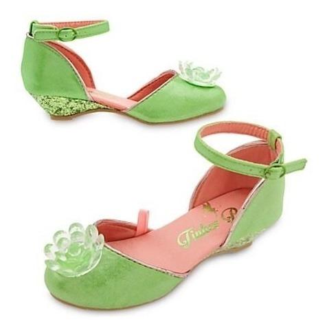 Tinkerbell Hada Zapatos Talla 9-10 Disfraz Disney Store