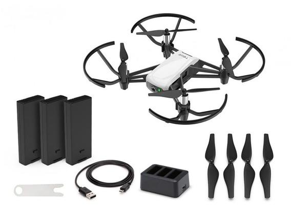Drone Dji Tello Boost Combo Arctic White