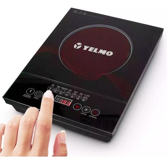 Anafe Electrico Vitroceramico Digital Yelmo Termostato 2000w