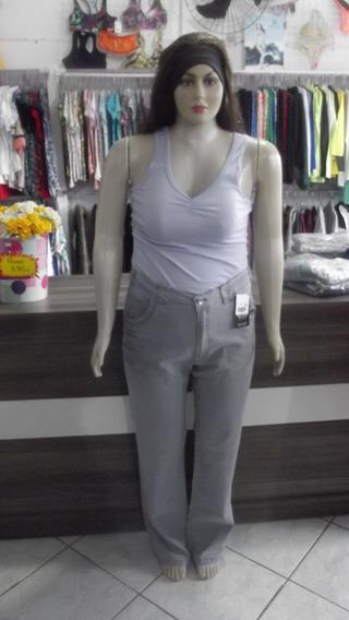 Calça Jeans Feminina Grandes Plus Size