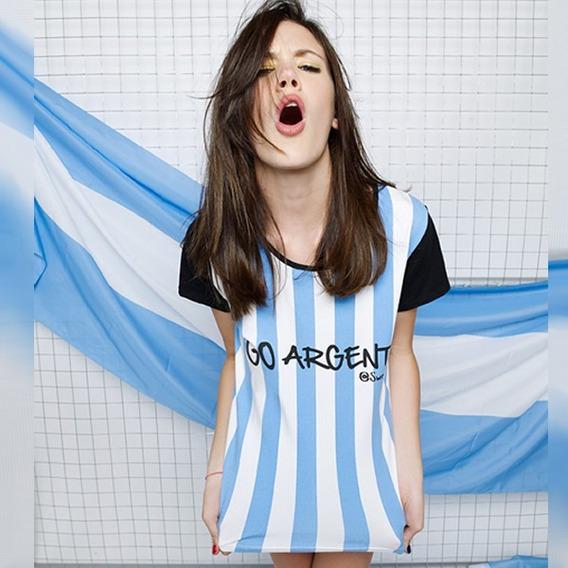 Camiseta 10 De Argentina Mundial Russia Sweet Victorian