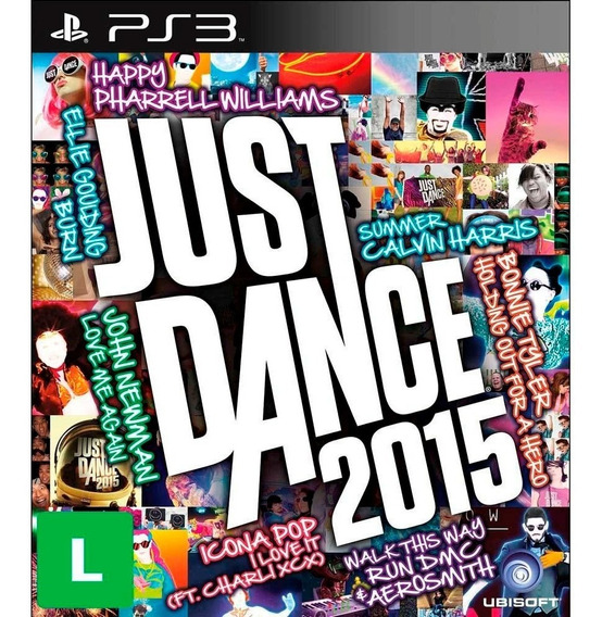 Just Dance 2015 Ps3 Mídia Física Novo Lacrado