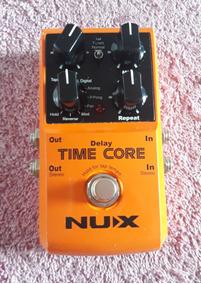 Pedal De Guitarra Delay Nux Time Core