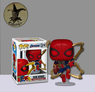 Iron Spider Avengers Spiderman Funko Pop Collectoys
