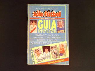 Guia Solo Futbol 1991/1992