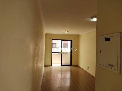 Apartamento Com 3 Dormitórios Para Alugar, 75 M² Por R$ 1.800,00/mês - Vila Gilda - Santo André/sp - Ap6551