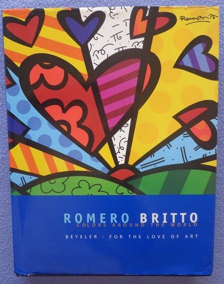 Romero Britto - Colors Around The World