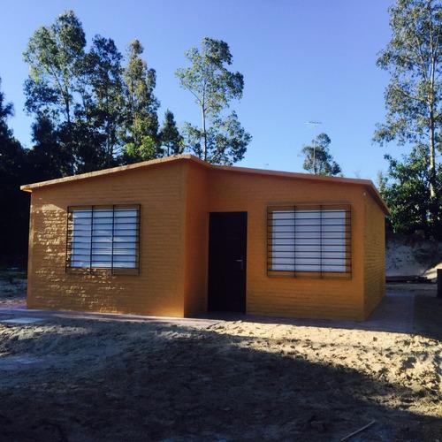 Construccion De Casas En Ladrillo Bolseado 49m2 U$ 19.500