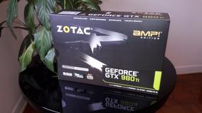 Placa De Video Zotac Gtx 980ti Amp Edition 6gb