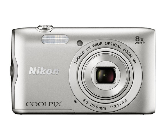 Nikon Coolpix A300 20.1mp Digital Câmera Com 8x Zoom Lente
