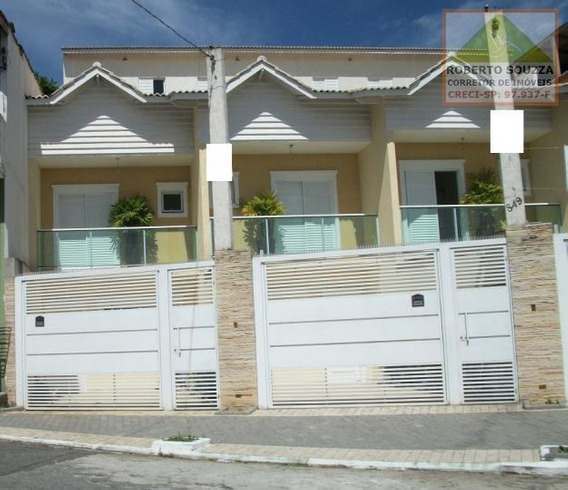 Sobrado Geminado Para Venda Em São Paulo, Itaim Paulista, 3 Dormitórios, 1 Suíte, 2 Banheiros, 2 Vagas - 00370_1-756906