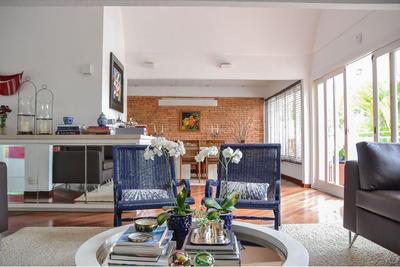 Maravilhosa Casa Reformada No Jardim Leonor - Morumbi! - Ca3204