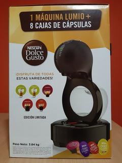 Nescafé Máquina Dolce Gusto Lumio + 8 Cajas De Cápsulas