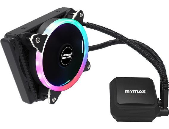 Water Cooler Mymax Algor Rgb 120mm Amd Am4 Intel Ix Led K776