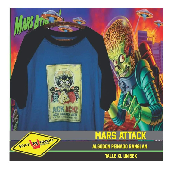 Remera Mars Attacks!! Katmandu