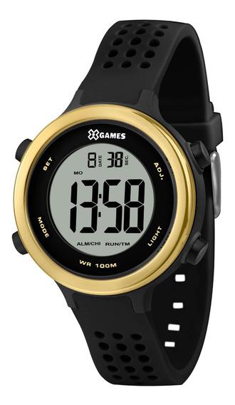 Relógio X Games Feminio Xfppd062 Bxpx Preto