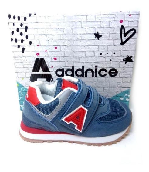 Addnice Zapatilla Running Positano Velcro Bebe Envío Gratis!