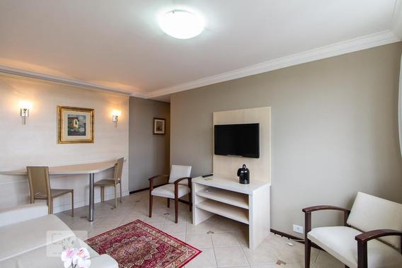 Apartamento No 1º Andar Mobiliado Com 1 Dormitório - Id: 892976331 - 276331