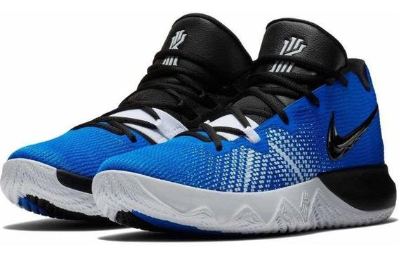 Tenis Nike Kyrie Flytrap Azul, Blanco # 25 Al 29 Cm