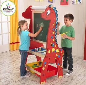 Kidkraft - Cavalete De Desenho E Lousa - Dinossauro - 62032