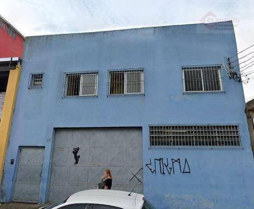 Imagem 1 de 1 de Galpão À Venda, 350 M² Por R$ 900.000,00 - Jardim Vera Cruz(zona Leste) - São Paulo/sp - Ga0456