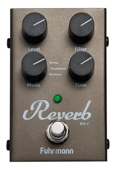 Pedal De Efeito Para Guitarra Fuhrmann Reverb Shimmer Rv-1