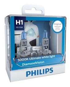 ( Original Leia ) Philips Diamond Vision 5000k H1 + Garantia