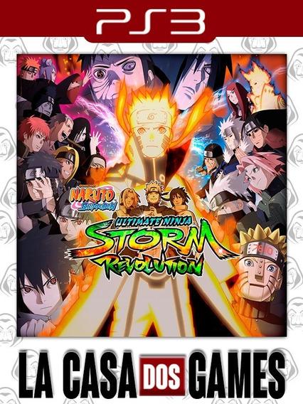Naruto Shippuden Storm Revolution - Psn Ps3 - Envio Imediato
