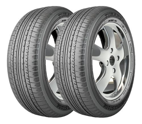 Imagem 1 de 5 de Kit 2 Pneus Bridgestone Aro 17 Turanza Er370 215/55r17 94v