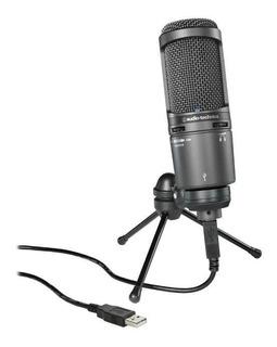 Micrófono Usb Condensador Audio-technica At2020usb+