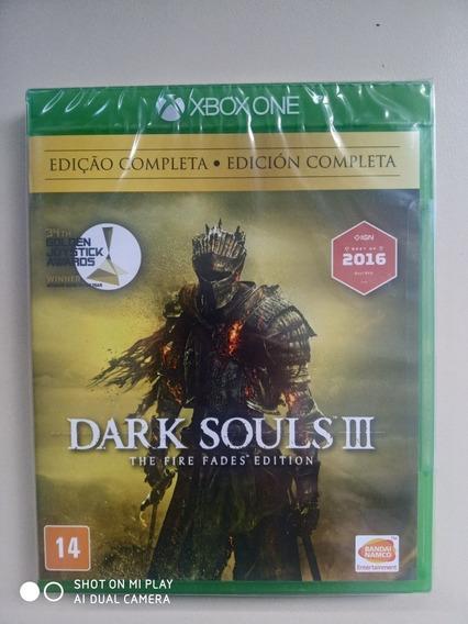 Jogo Dark Souls Iii The Fire Fades Xbox One M. Física Novo