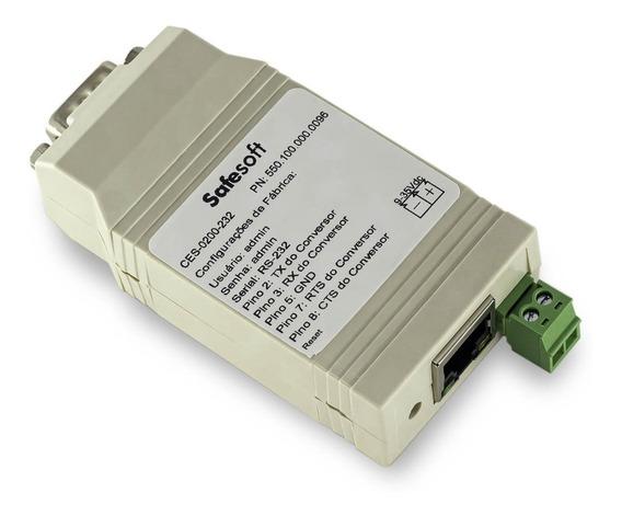 Conversor Ethernet Serial Rs-232 Ideal P/ Balanças, Clp, Etc