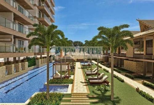 2524 - Apartamento Para Vender, Camboinha, Cabedelo, Pb - 22928