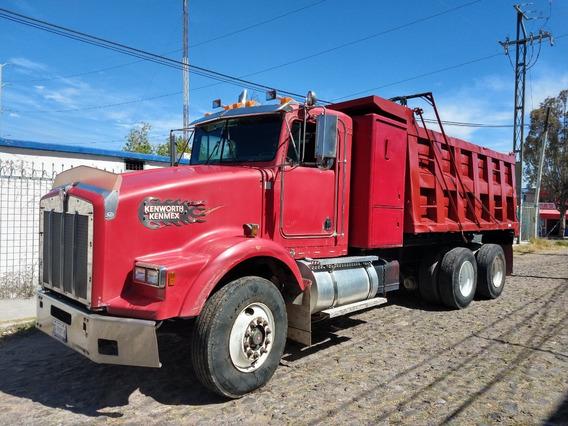 Camion Volteo 14m3 Kenworth