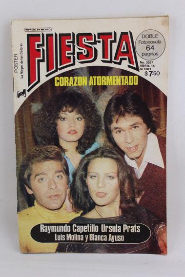 L1055 Fotonovela Fiesta Numero 326 Abril 1981 Corazon Atorme