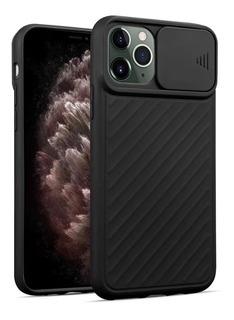 Capa Com Proteção De Lente Para Apple iPhone 11 Pro - Preta