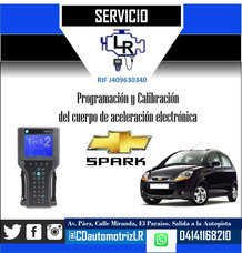 Calibración Cuerpo Aceleración Electrónico Chevrolet